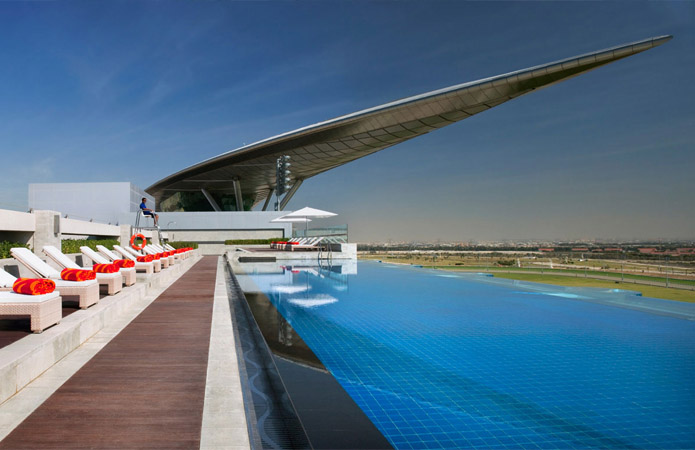 The Meydan Hotel Dubai Decking